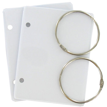 Floss Binder with Rings